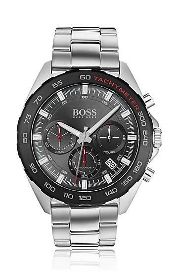 boss  Montre chronographe à tachymètre intégré et bracelet à maillons Mécanisme... par LeGuide.com Publicité