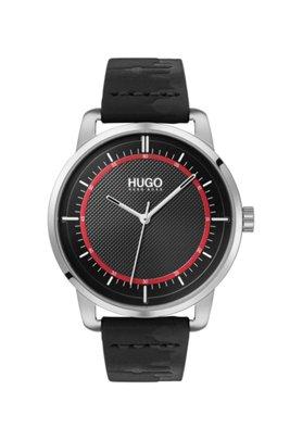 Limited-edition Berlin skyline-strap watch, Black