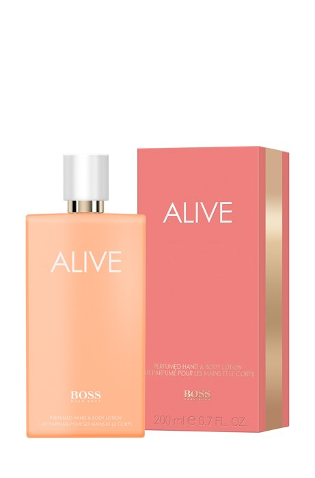 BOSS Alive hand- en bodylotion 200 ml, Lichtroze