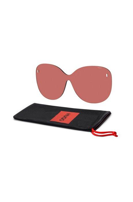 Clip-on rotonde rosa con rivetti magnetici, Assorted-Pre-Pack