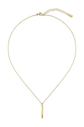 Twisted-bar necklace with yellow-gold finish, Assorted-Pre-Pack