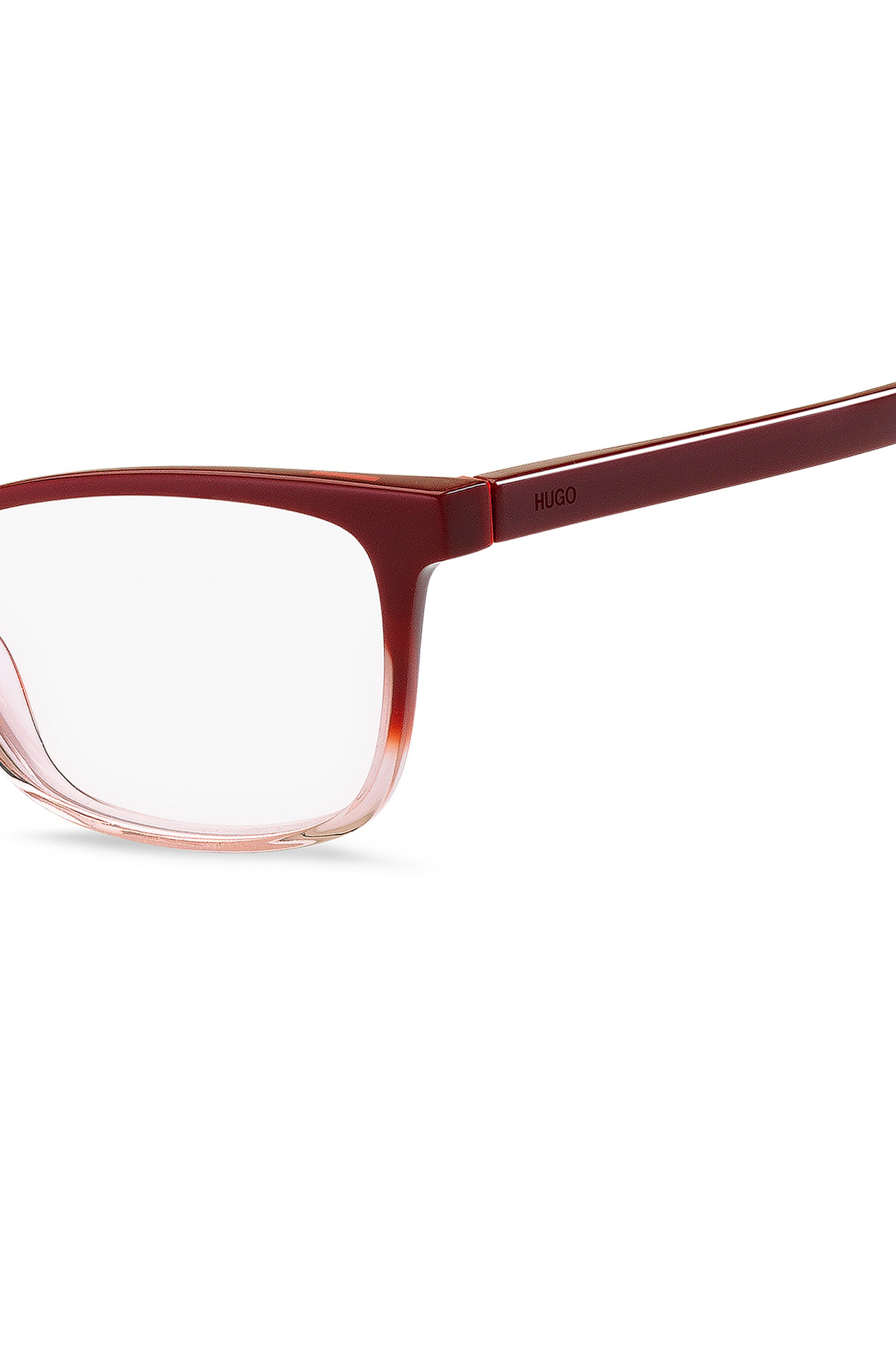 Optical frames in colour-blocked acetate