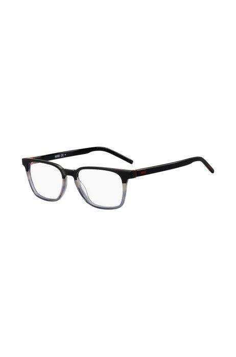 Eckige Brille aus Acetat im Colour-Block-Design, Assorted-Pre-Pack