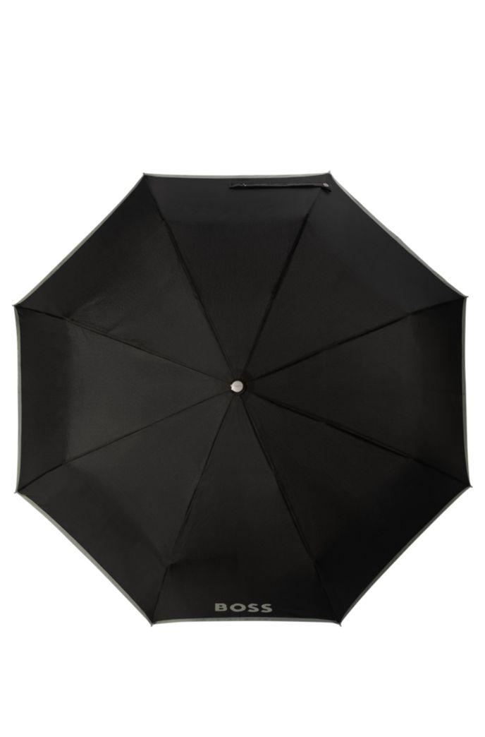 Pocket umbrella with grey border