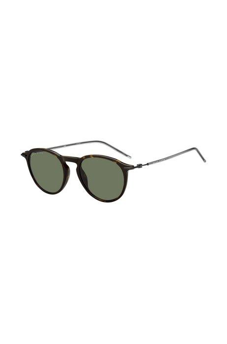 Sonnenbrille aus Acetat in Horn-Optik mit Kunststoffüberzug, Assorted-Pre-Pack