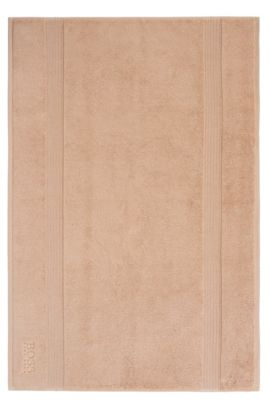 Bath mat ´LOFT Tapis de bain` in cotton terry, Beige