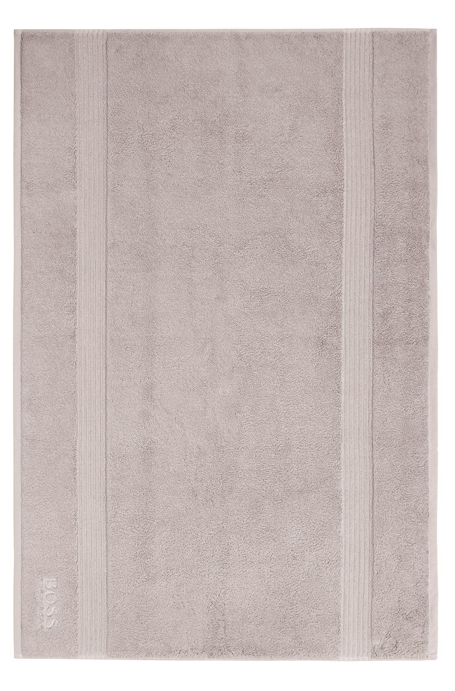 Badematte aus gekämmter ägäischer Baumwolle mit Ripp-Bordüre