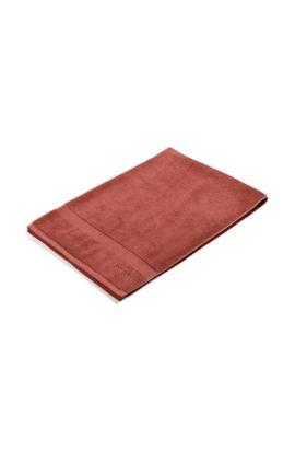 Badetuch aus Baumwolle: 'LOFT NuDE100x150', Dunkelorange