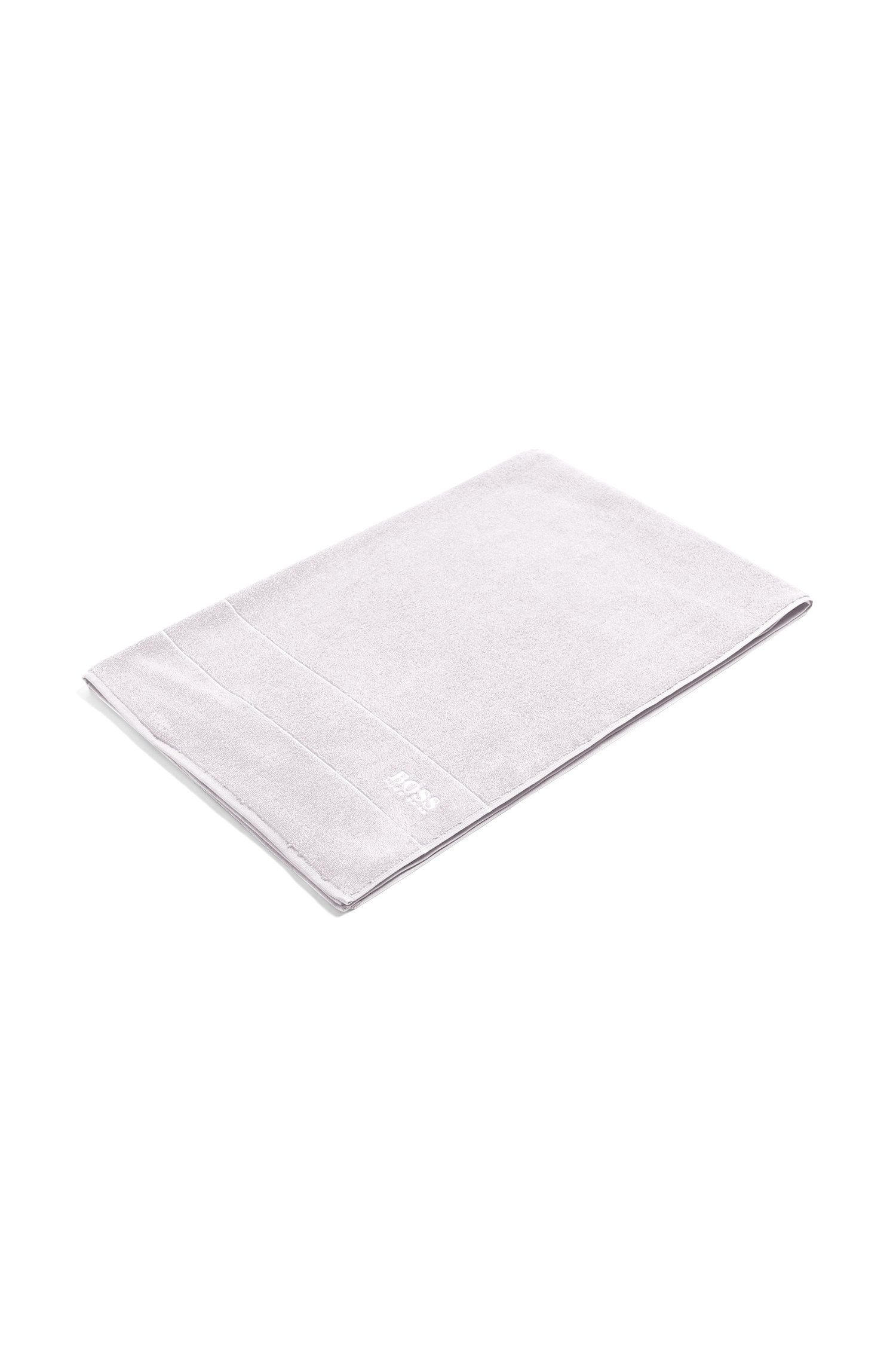Finest Egyptian cotton bath sheet with logo border