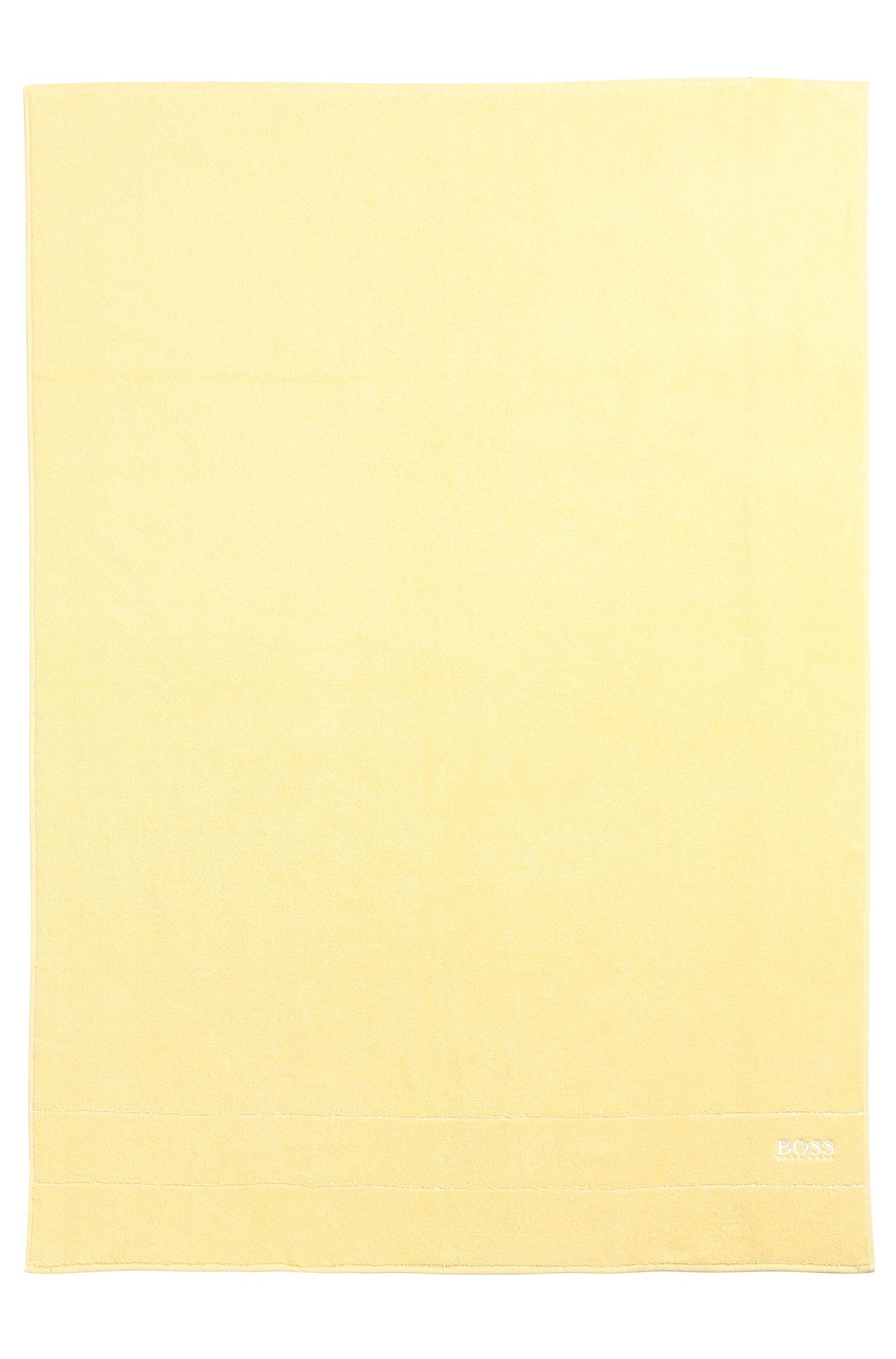 Telo da bagno 'PLAIN' con logo di colore contrastante
