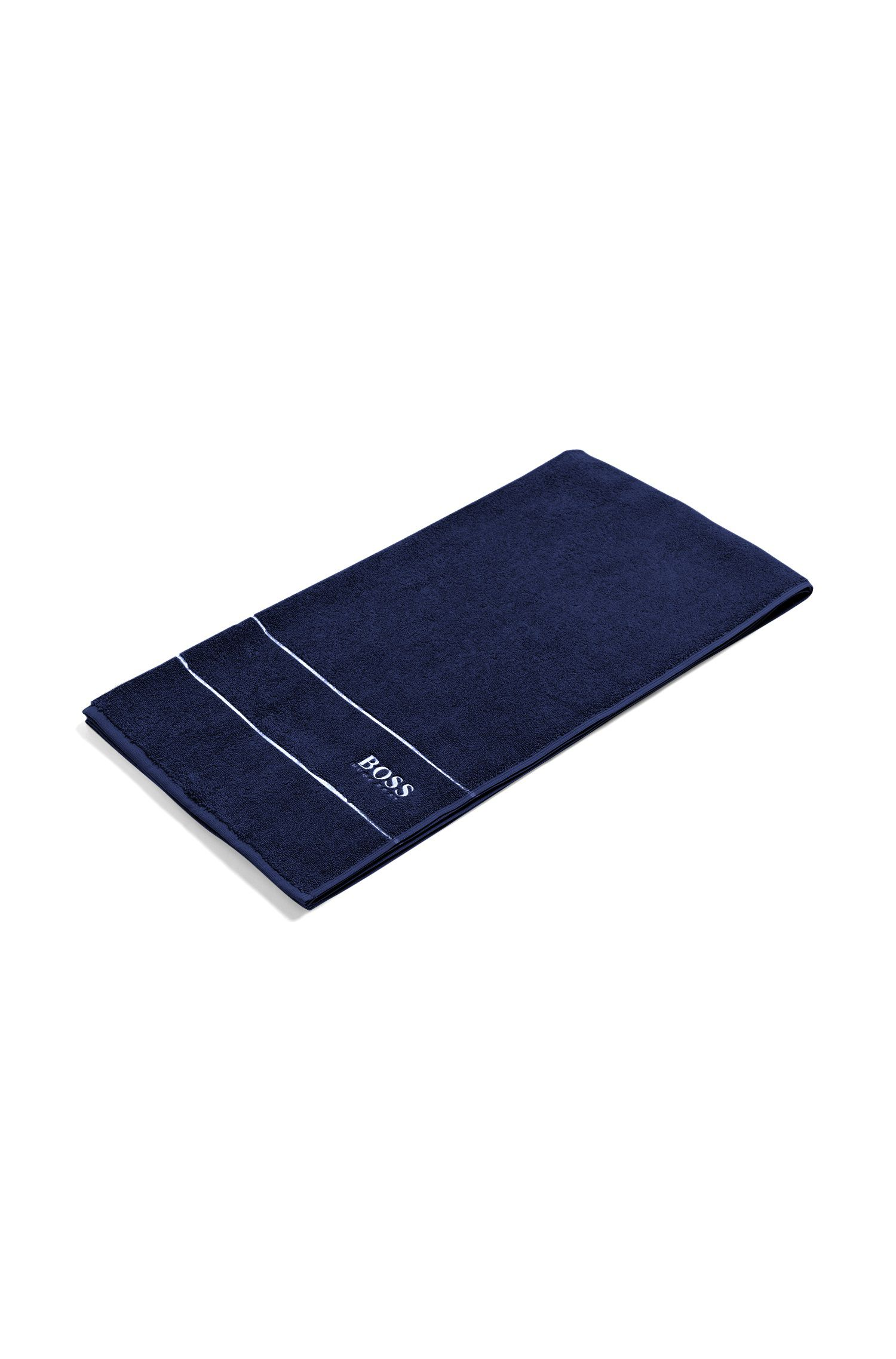 Finest Egyptian cotton bath towel with logo border