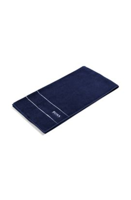 Shower towel ´PLAIN Serviette douch`, Dark Blue