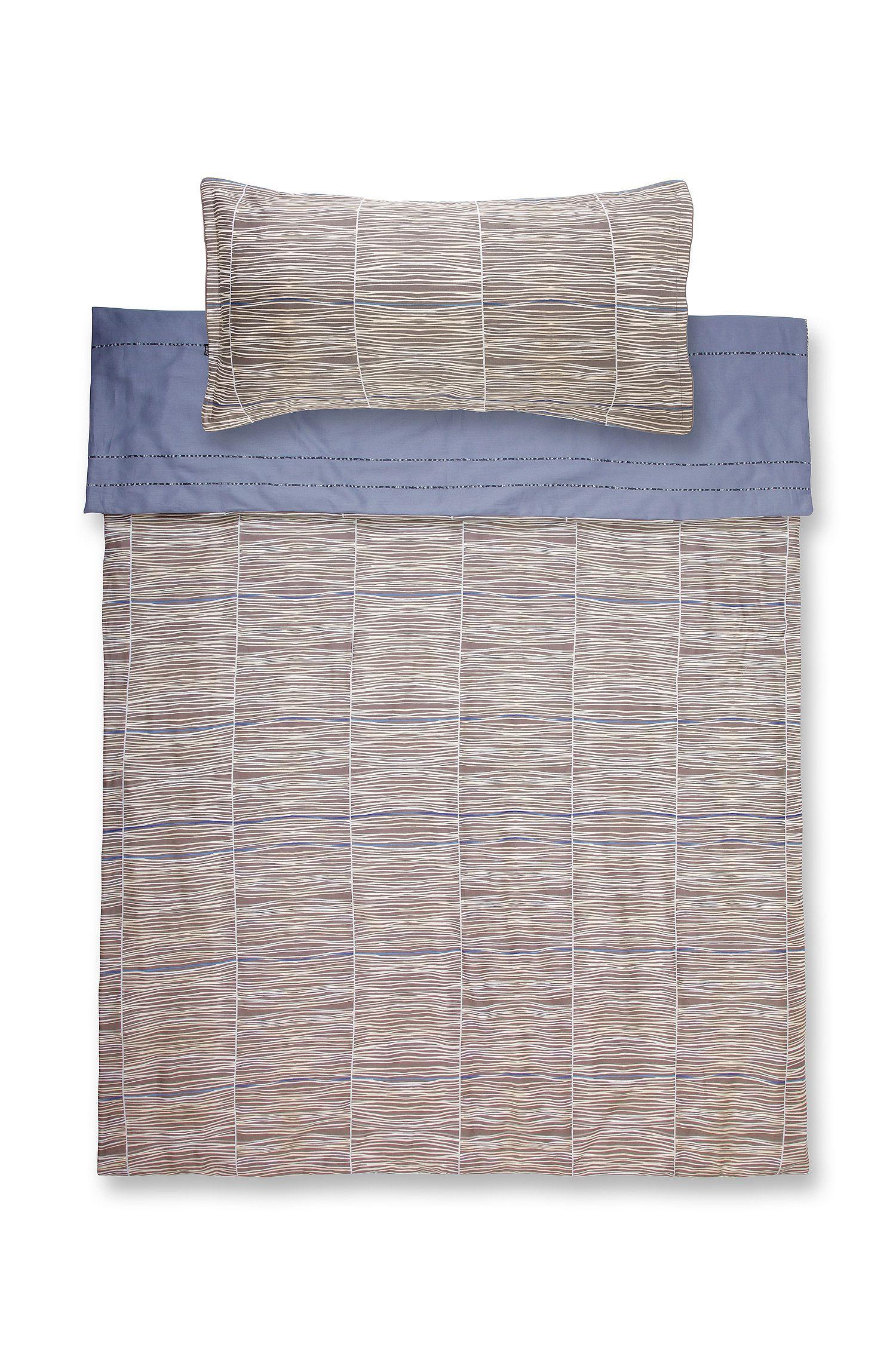 Bettdeckenbezug ´BLUESONG`aus Baumwollsatin