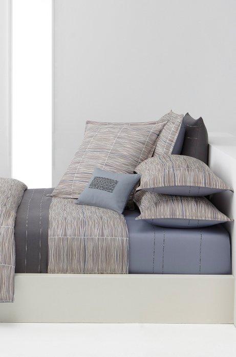neueste trends neu authentisch rationelle Konstruktion BOSS - Bettdeckenbezug ´BLUESONG`aus Baumwollsatin