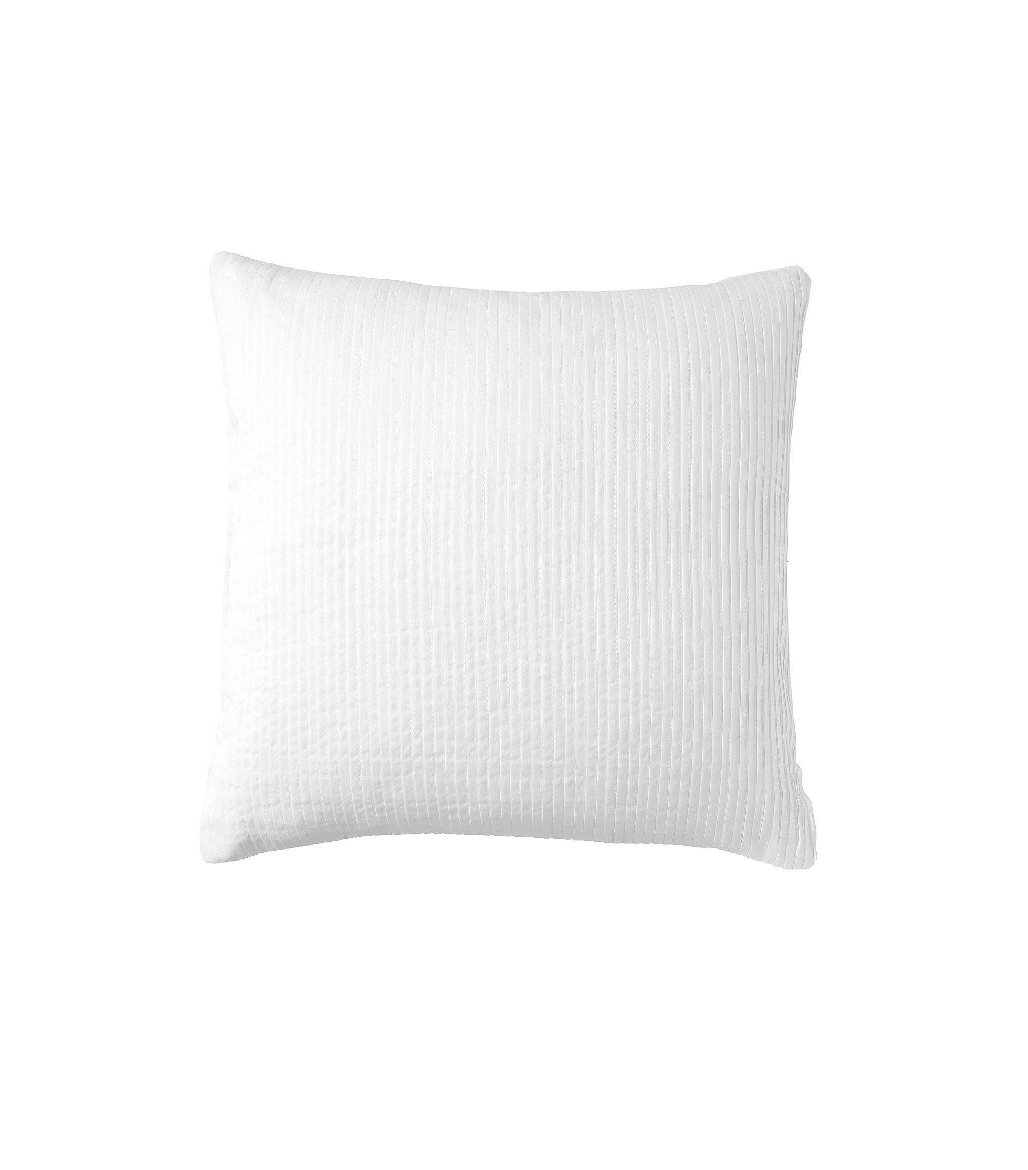 Unifarbene Kissenhülle ´BREEZE` aus Baumwolle, Weiß