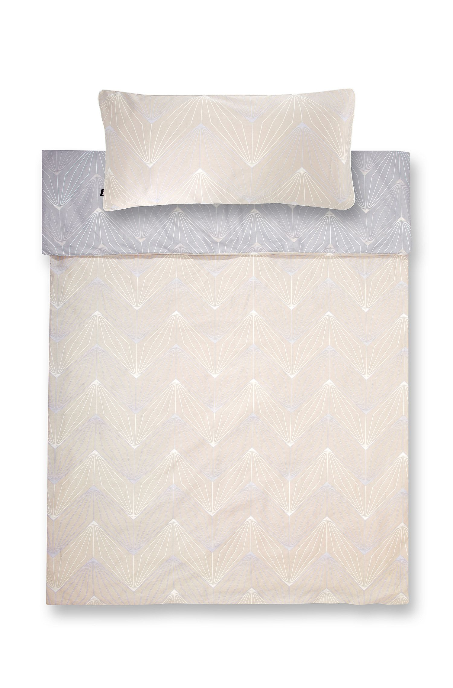 Duvet cover 'ORI' in top-quality cotton satin