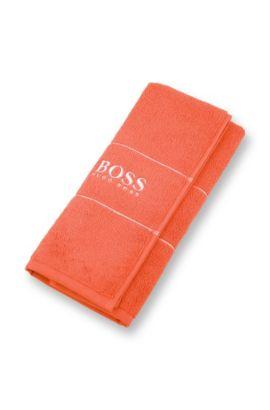 Gästehandtuch aus Baumwolle: 'PLAIN Pearl Invi040060', Orange