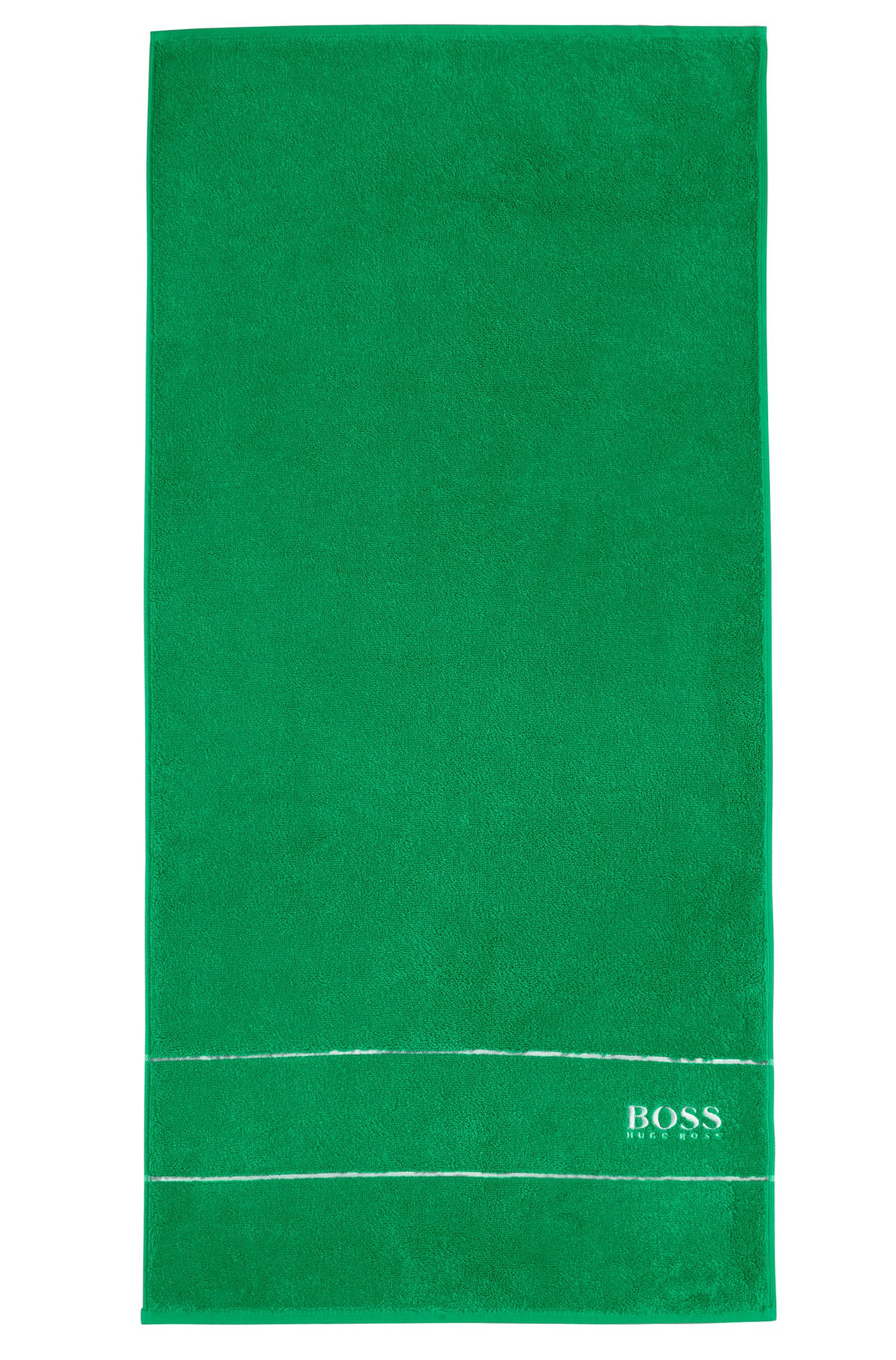 Handtuch aus feinster ägyptischer Baumwolle mit Logo-Bordüre