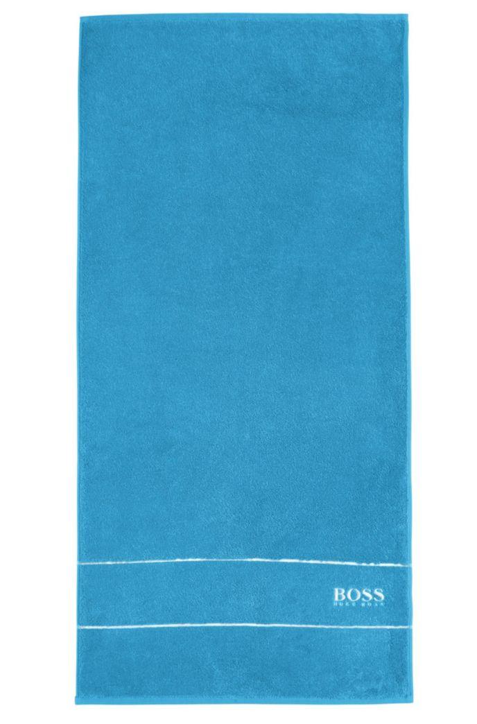 Asciugamano per le mani in raffinato cotone egiziano con bordo griffato