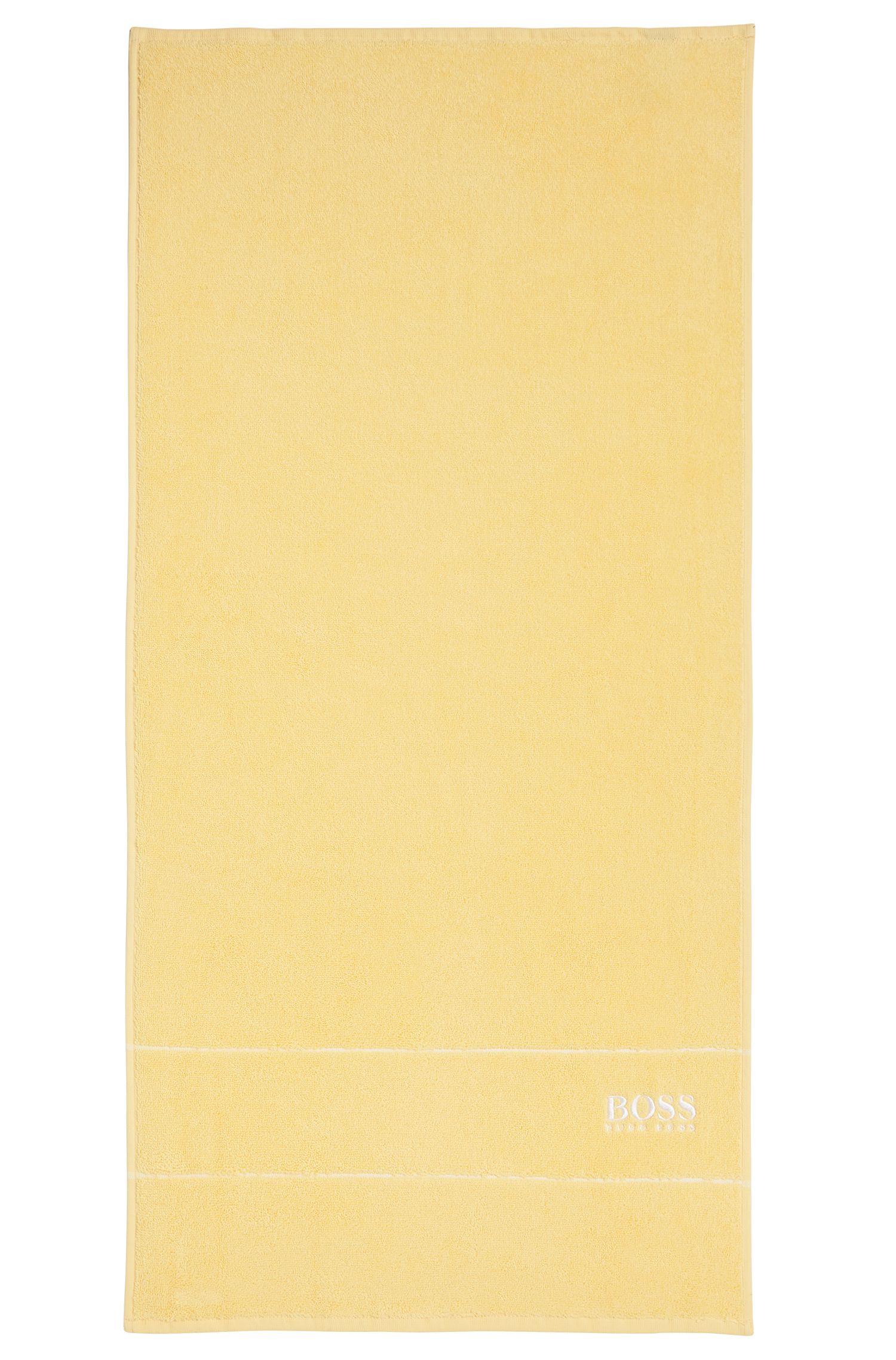 Asciugamano 'PLAIN Serviette toile' in cotone-spugna