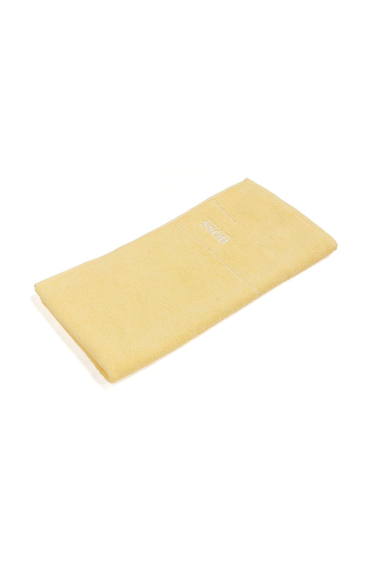 Handdoek 'PLAIN Serviette toile' van een katoenen frotté