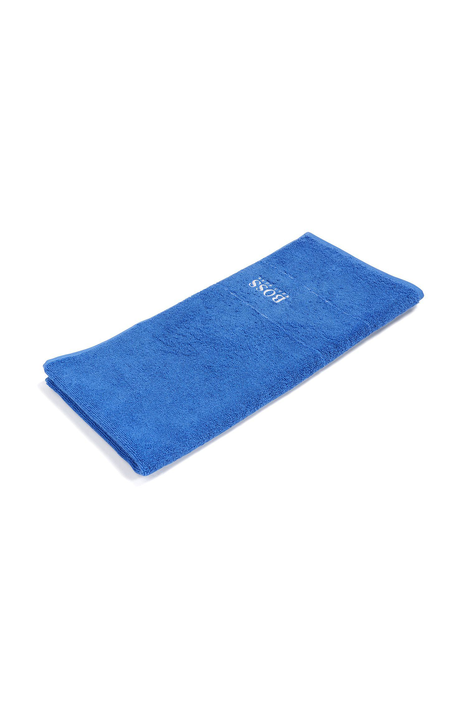 Finest Egyptian cotton hand towel with logo border