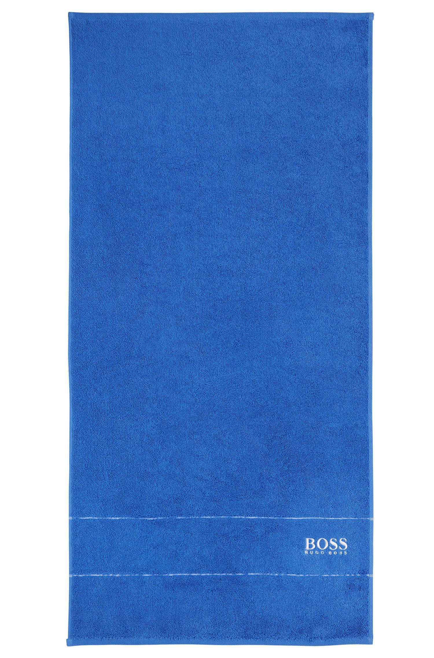 Handdoekje van de fijnste Egyptische katoen met rand met logo, Assorted-Pre-Pack