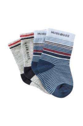 2er-Pack Kids-Socken ´J00054` aus Baumwollkomposition, Gemustert