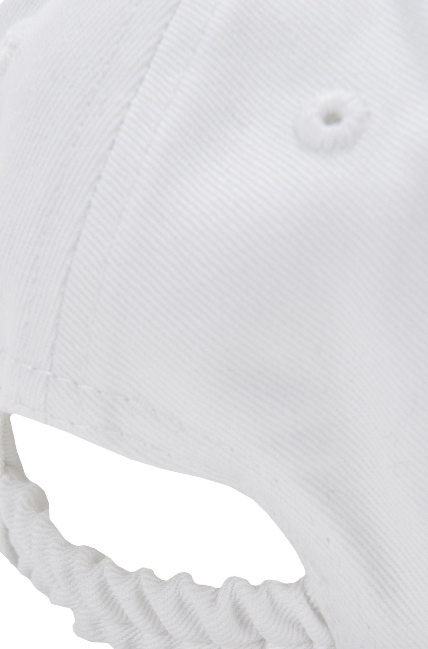 Casquette pour enfant en coton avec logo brodé: «J01074»
