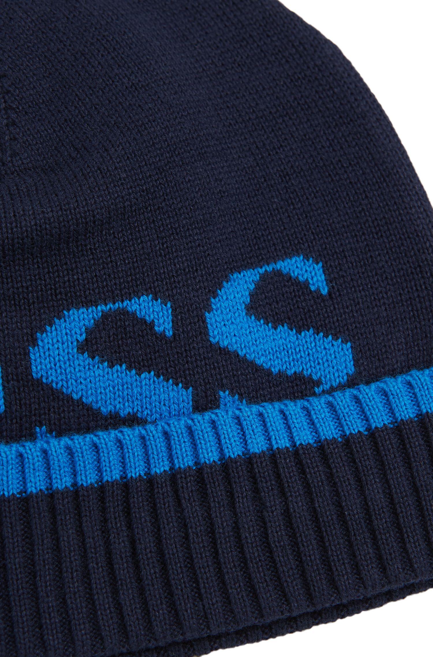 Kids-Mütze aus melierter Baumwolle: 'J01080'