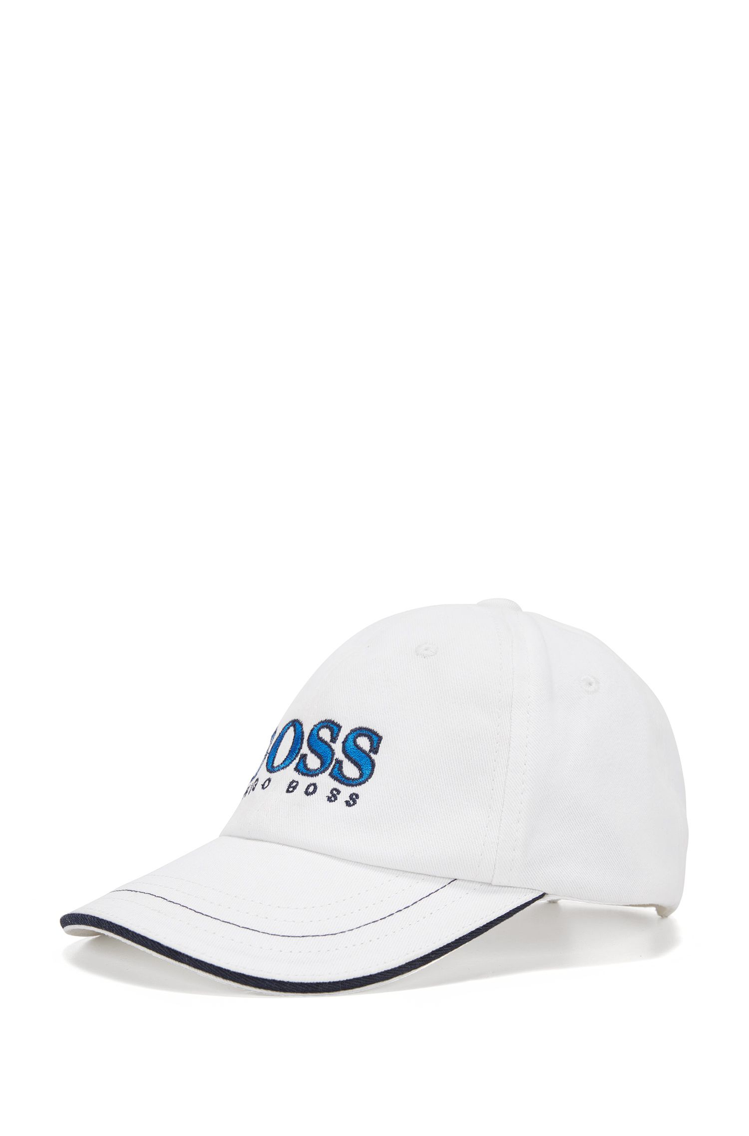 Kids' cap in cotton with large logo: 'J01083'