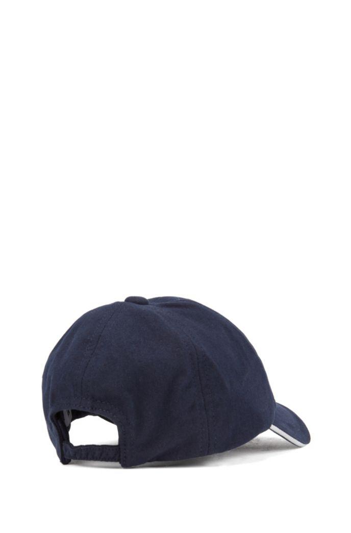 Casquette pour enfant en twill de coton, avec logo brodé