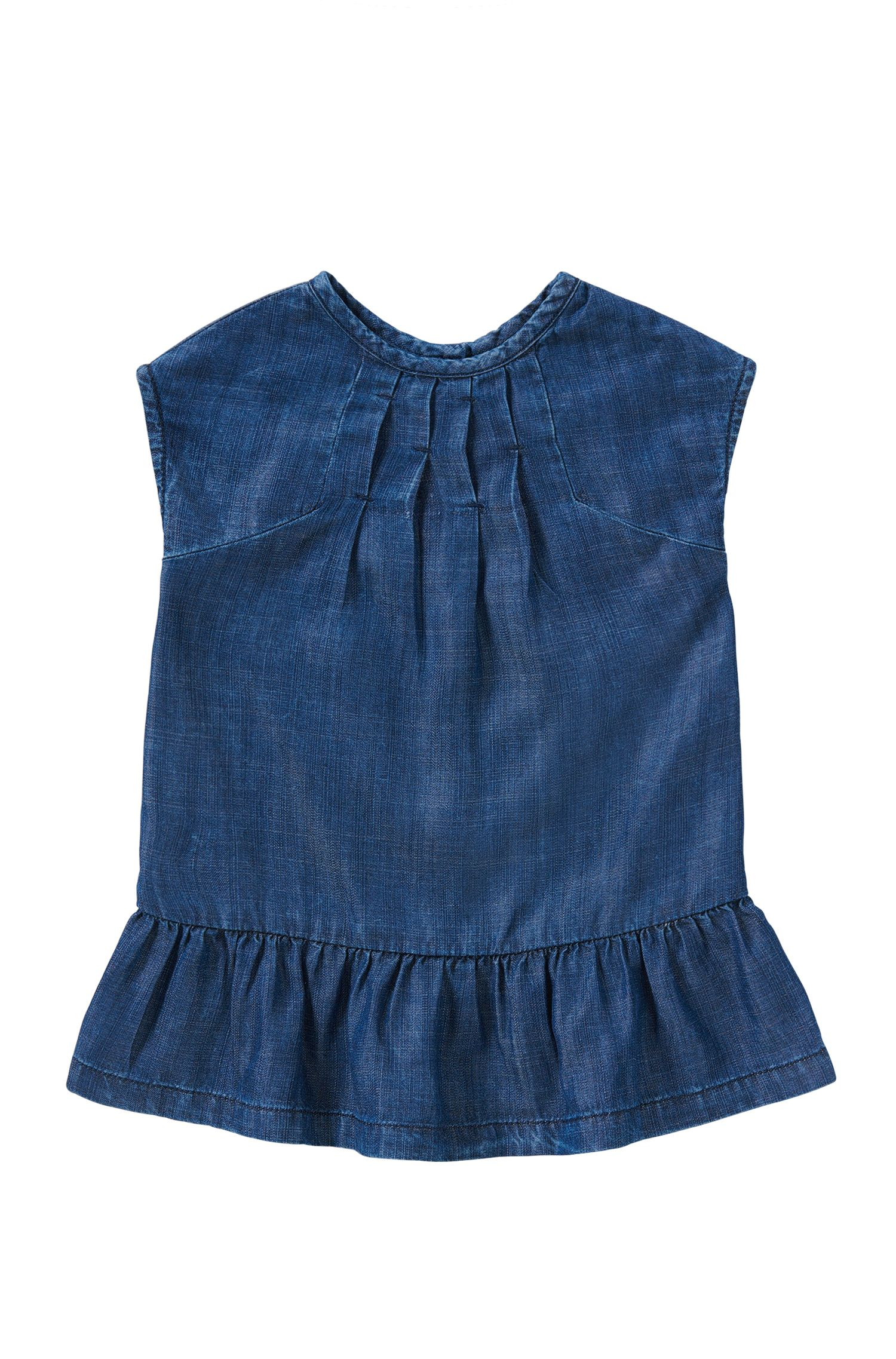 Denim-look kids' dress: 'J02024'