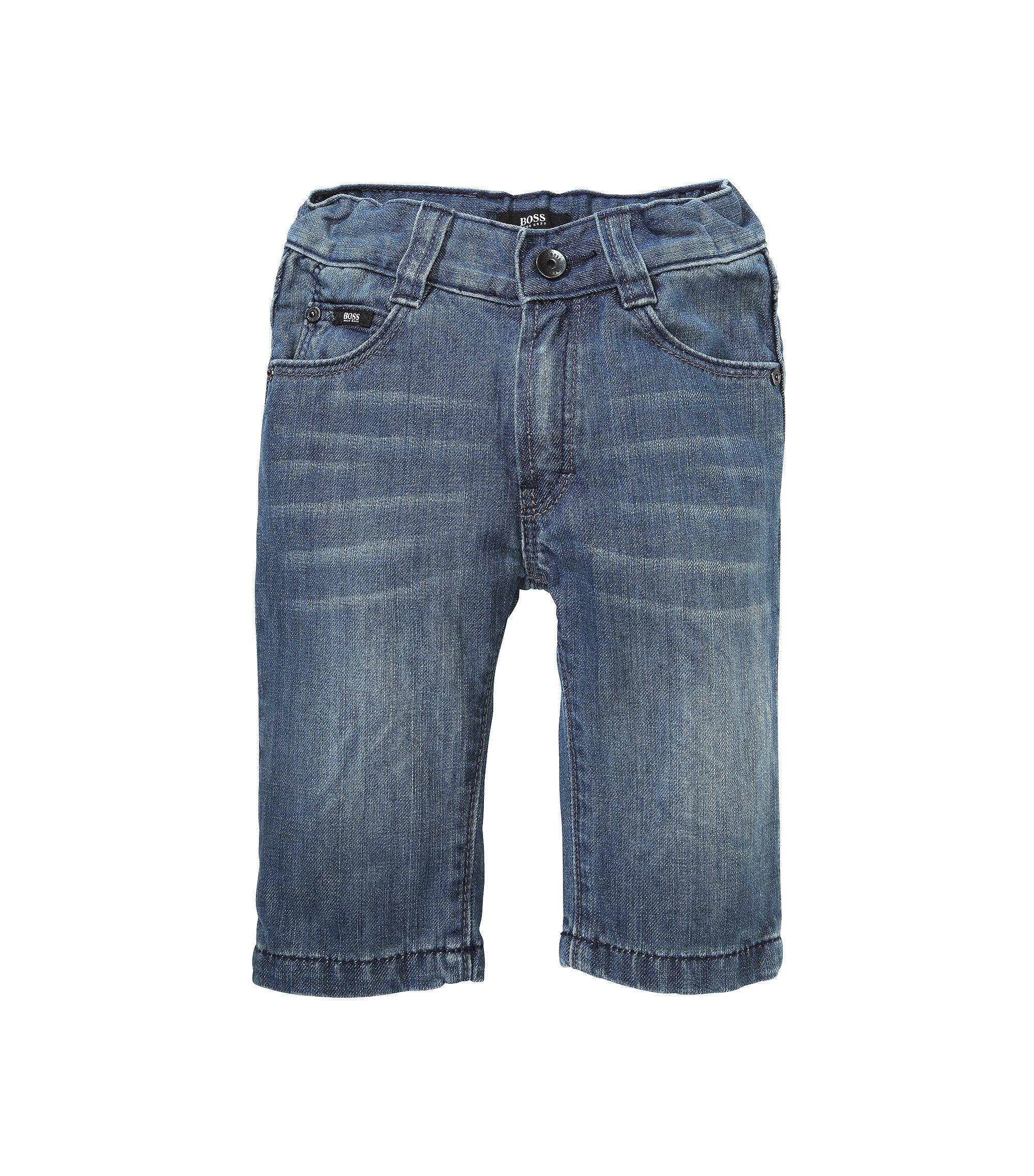 Kids-Jeans ´J04159` aus Baumwolle, Gemustert