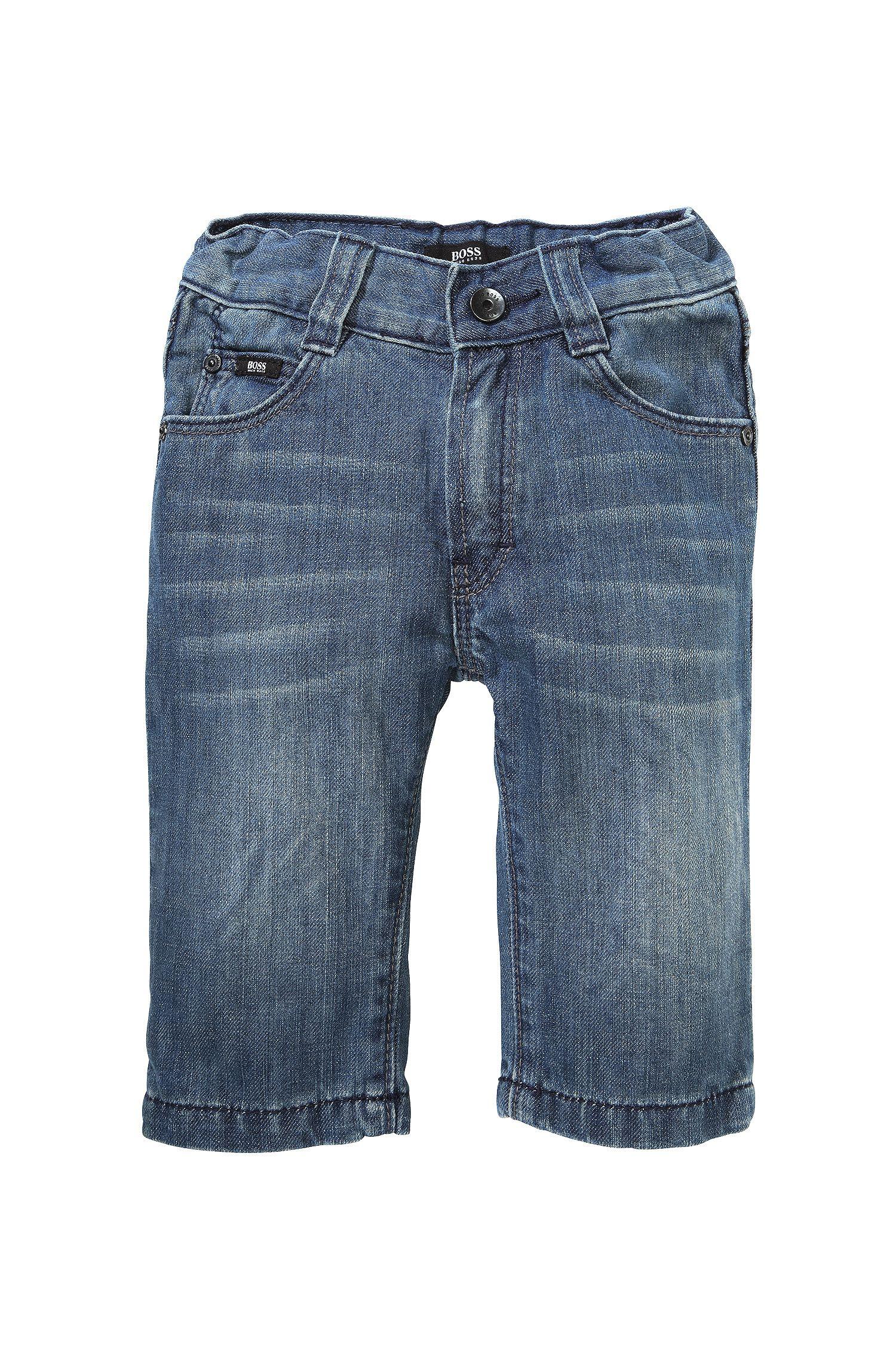 Jeans pour enfant «J04159» en coton