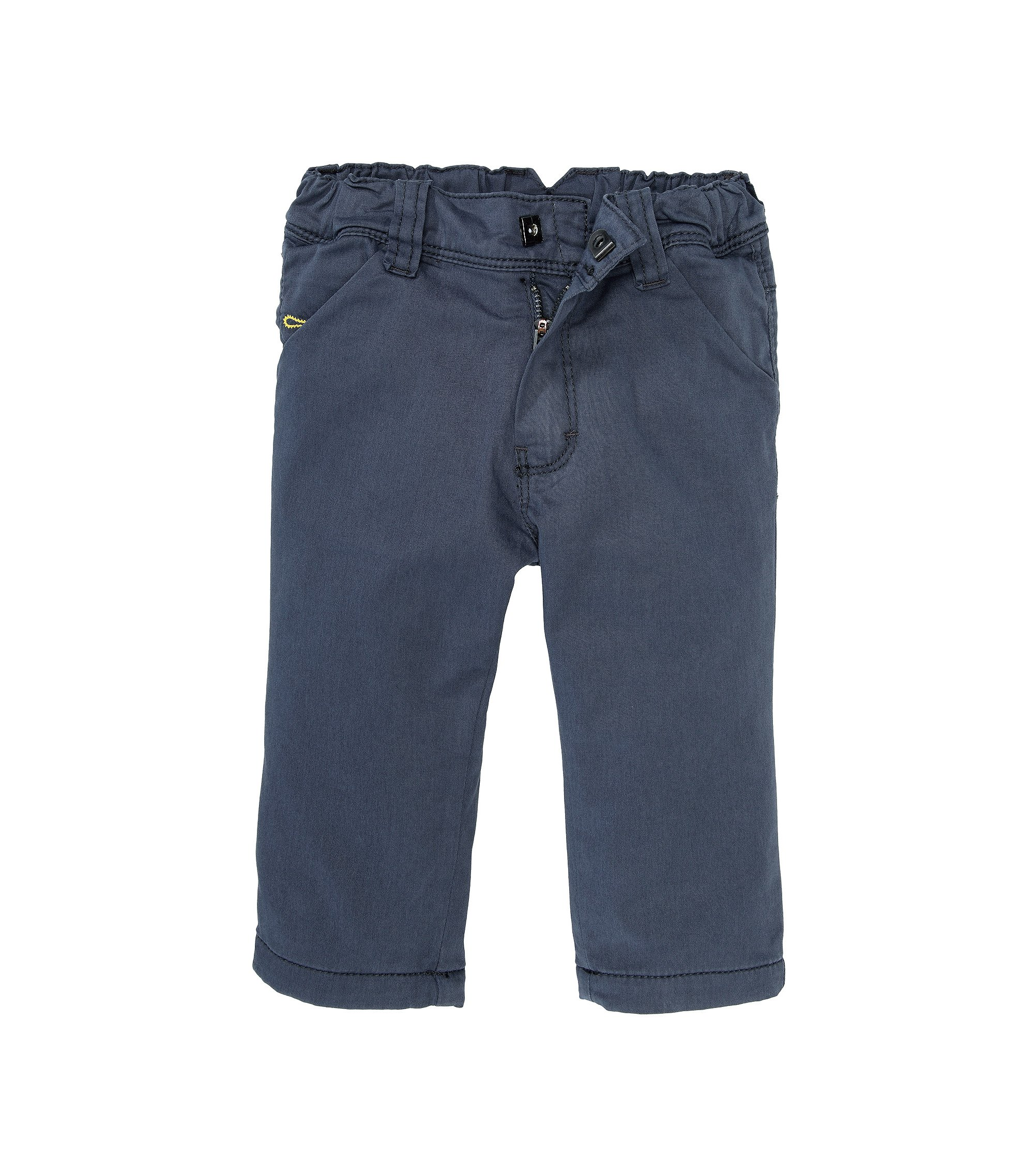 Regular-Fit Kids-Hose ´J04168` aus Baumwoll-Mix, Blau