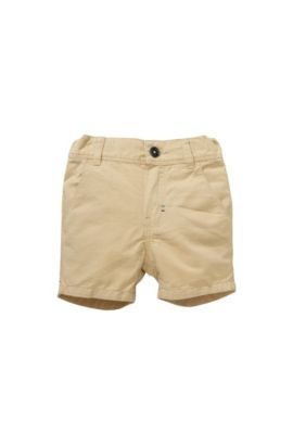 Kids-Shorts ´J04183` aus Baumwoll-Mix mit Leinen, Beige