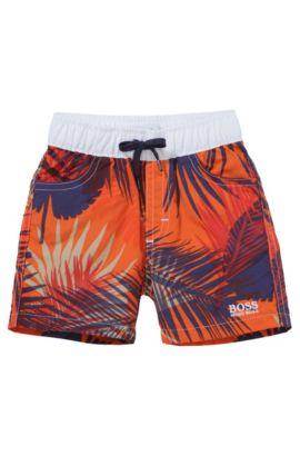 Kinderzwemshort 'J04187', Oranje