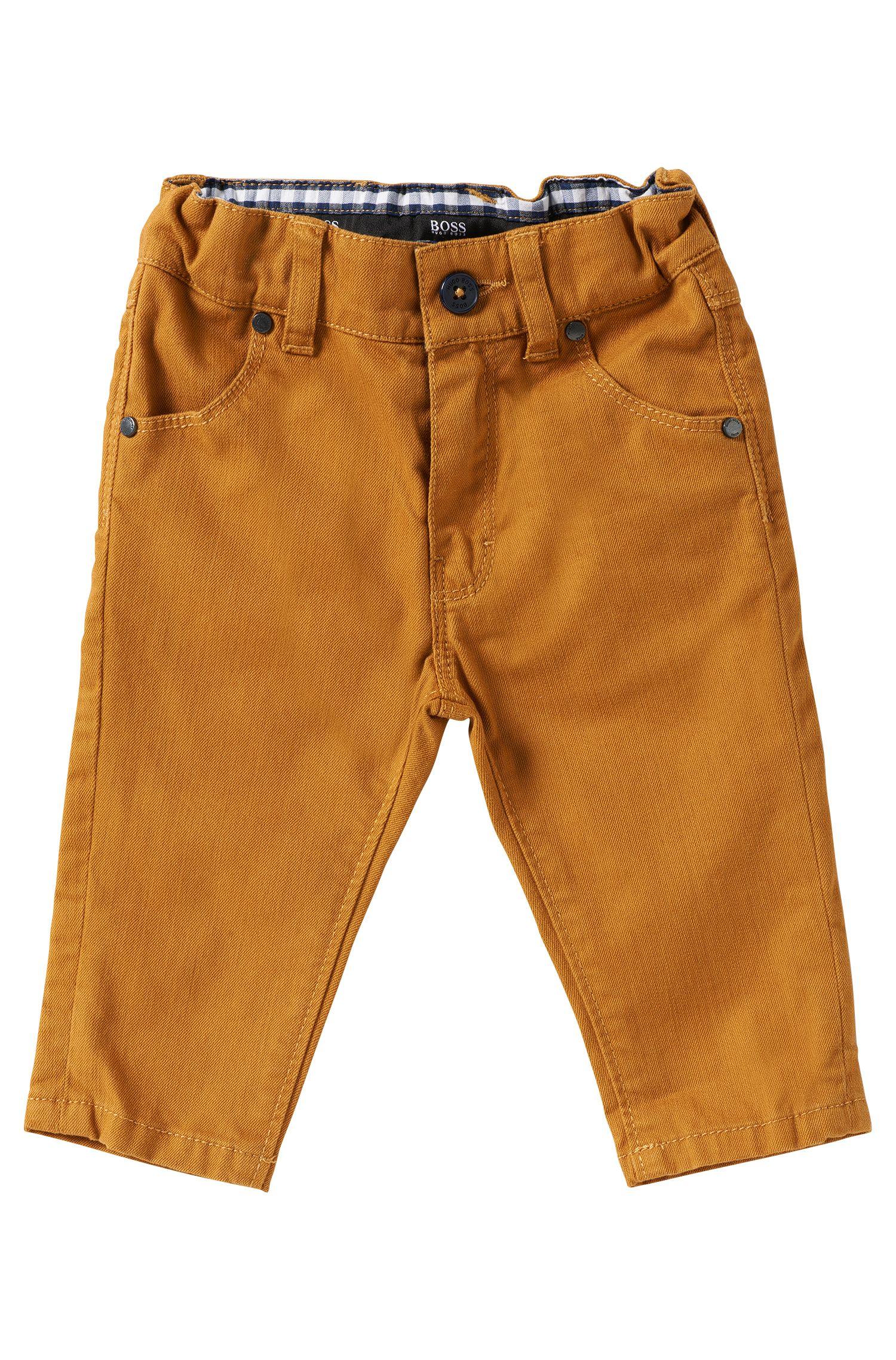Pantalon pour enfant en coton mélangé: «J04198»