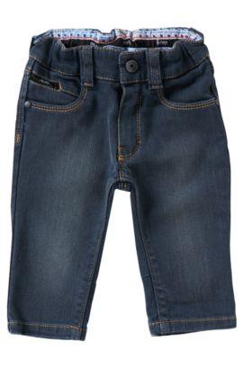 Kids-Jeans aus Baumwoll-Mix: 'J04204', Gemustert