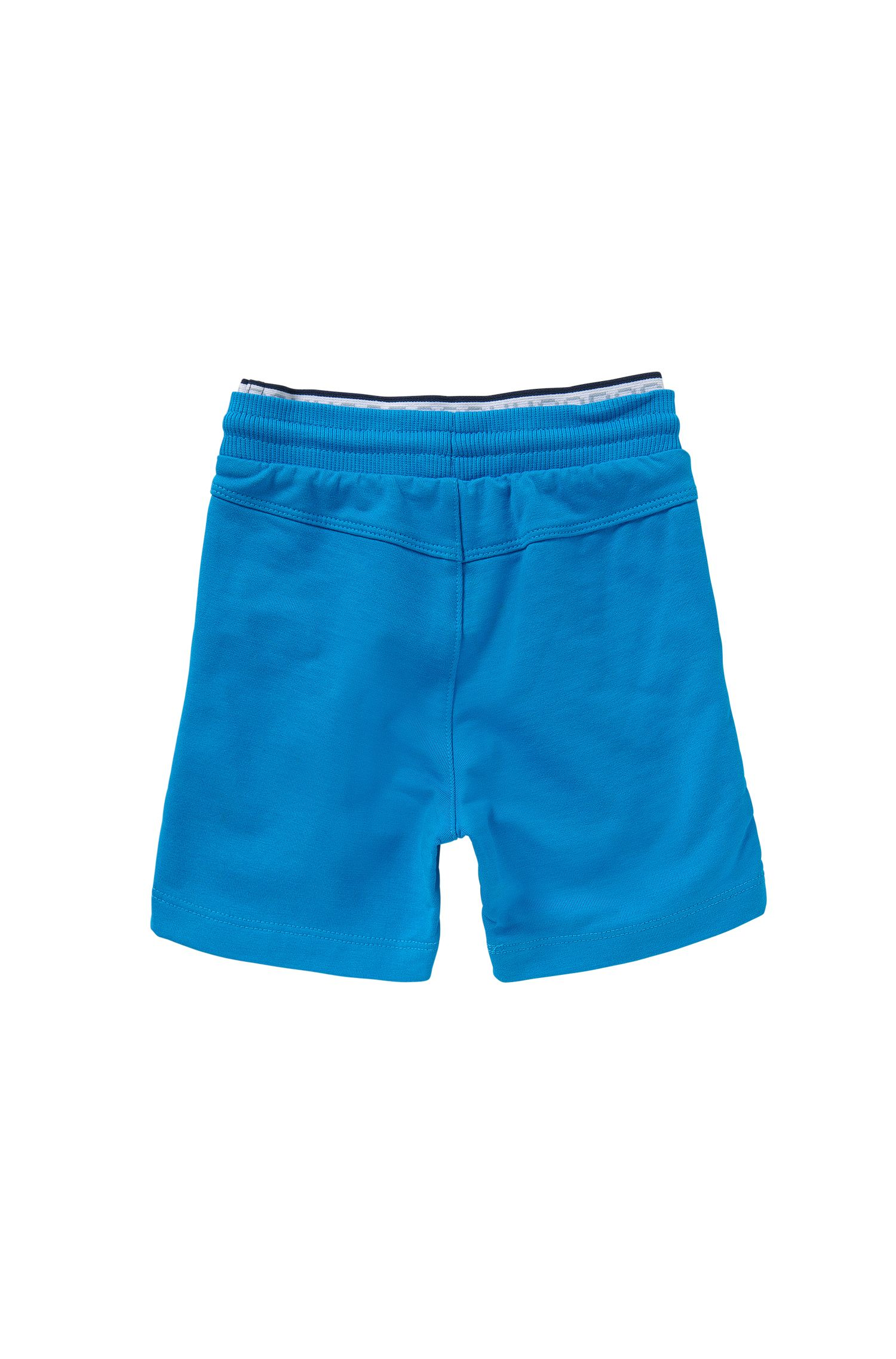 Newborns' shorts in stretch cotton with double-layered waistband: 'J04216'