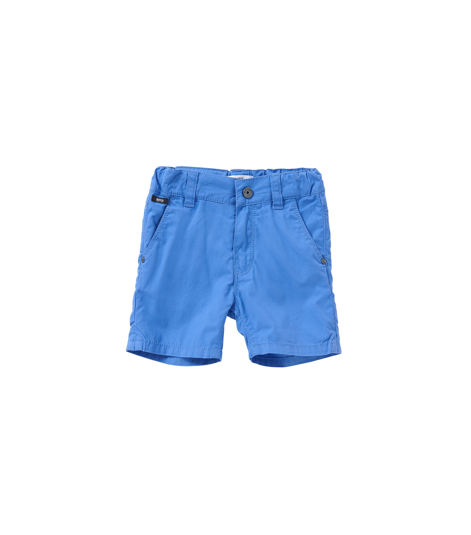 Regular-Fit Baby-Shorts aus Baumwolle: 'J04218', Blau