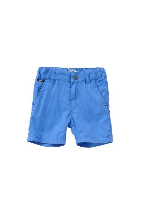 Regular-Fit Baby-Shorts aus Baumwolle: 'J04218', Blau