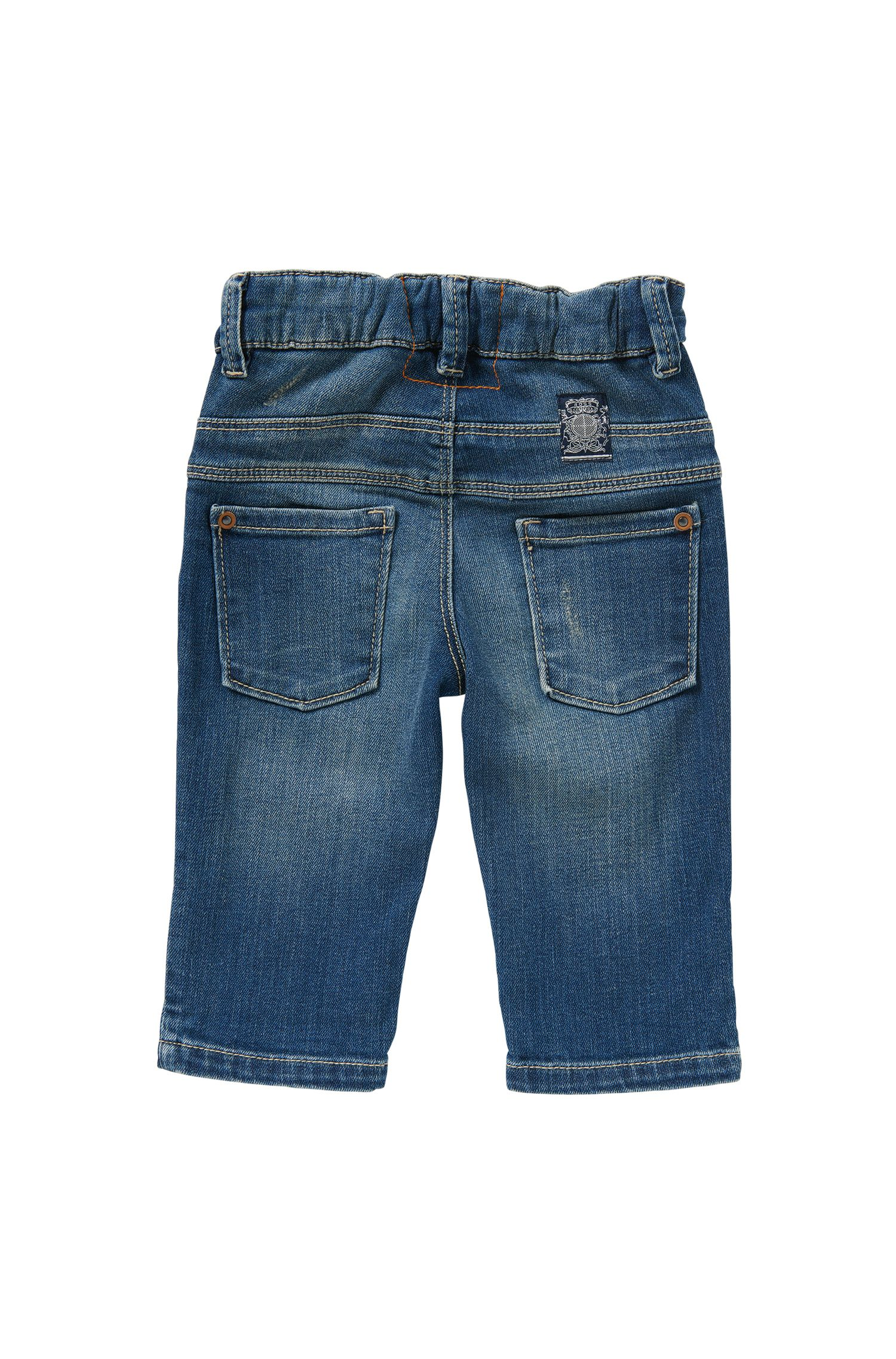 Slim-Fit Baby-Jeans aus Stretch-Baumwolle: 'Montana'