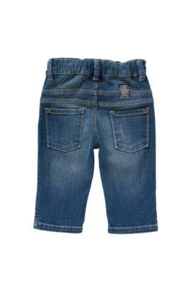 Slim-Fit Baby-Jeans aus Stretch-Baumwolle: 'Montana', Blau