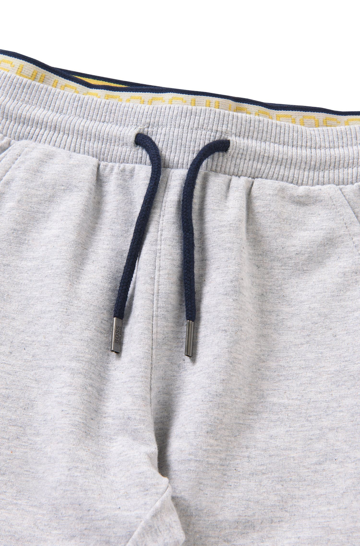 Gemêleerde babysweatbroek van stretchkatoen: 'J04224'