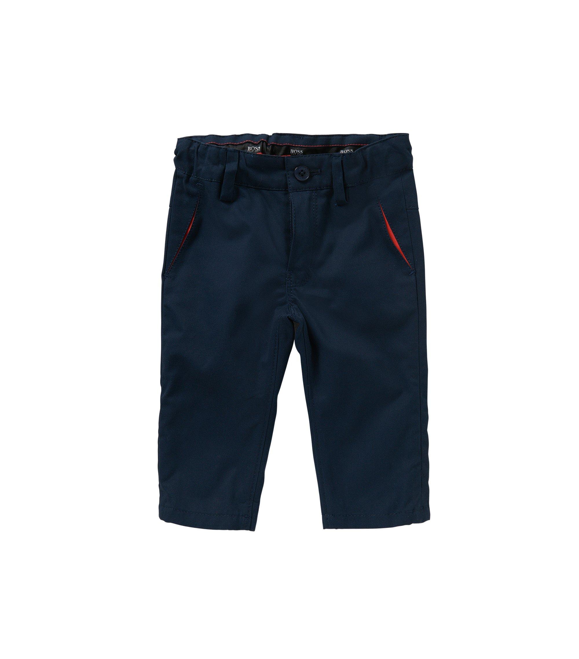 Regular-Fit Baby-Hose aus Baumwolle: 'J04227', Dunkelblau