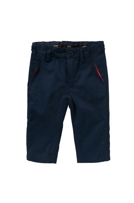 Pantalon pour bébé en coton: «J04227», Bleu foncé