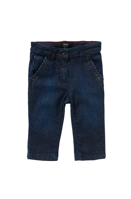 Jeans pour bébé Slim Fit en coton mélangé: «J04234», Fantaisie