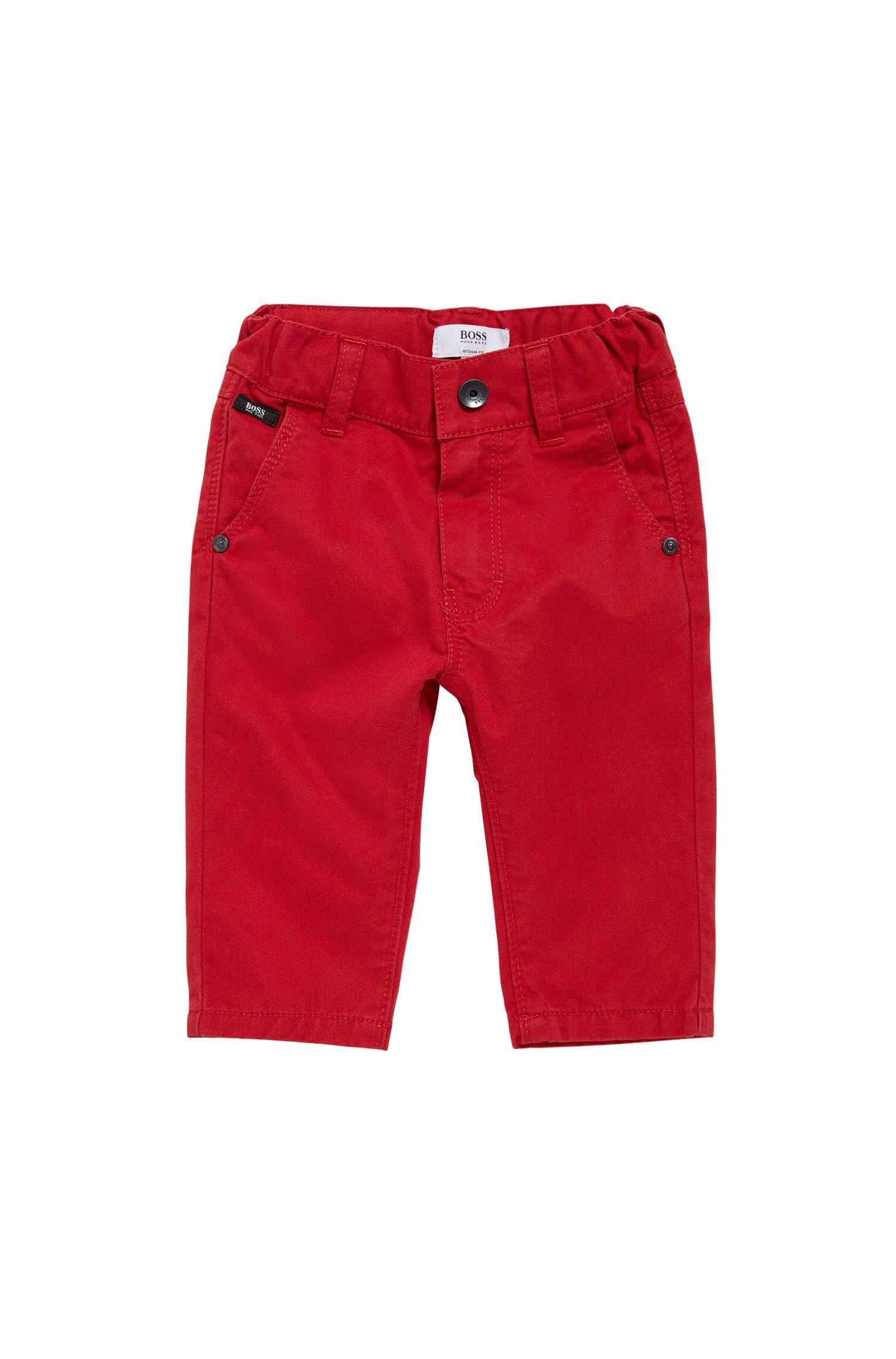 Regular-Fit Kids-Hose aus Baumwolle: 'J04248'